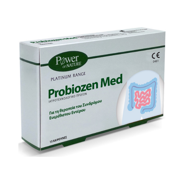 Read more about the article ΑΝΑΚΛΗΣΗ POWER OF NATURE PROBIOZEN MED